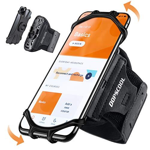 OOPSCOOL Handy Armband Joggen, Handytasche Sport Universal Handyhalter Arm für iPhone 12 Pro Max Mini 11 Pro Max XS XR X 8 Samsung Galaxy Huawei Handyhalterung Laufen (4''- 6.5