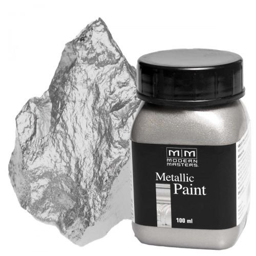 Silber Metallic Paint 100ml Modern Masters