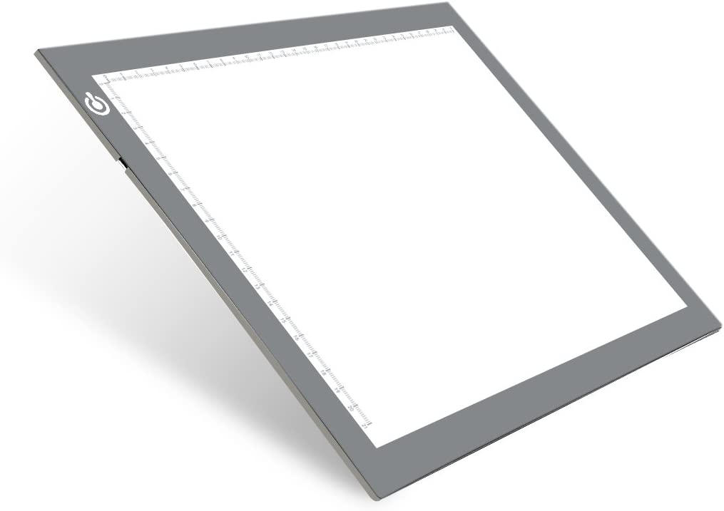 Limited time sale A4 Silver LED Trace Light Pad USB Manufacturer regenerated product T Power NXENTC Table