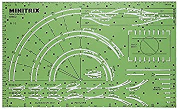 Minitrix Track Planning Stencil