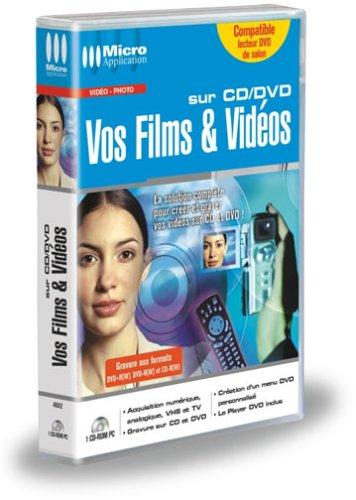 Vos Films et Vidéos sur CD/DVD