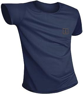 Camiseta Hidrofóbica para Hombres y Mujeres, T Shirt Anti-incrustante Impermeable, Unisex T-Shirt Deportiva Casual Manga Corta, Secado Rápido, Absorción Humedad y Transpirable
