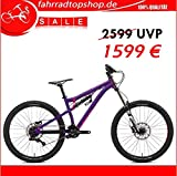 'NS Bikes Soda Evo Coil Entry Level DH/Bike Park 27,5 Purple 8 SPD SRAM X4 Trigger, RH: M/L