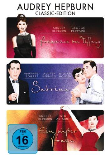 Frühstück bei Tiffany / Sabrina / Ein Süßer Fratz [3 DVDs]