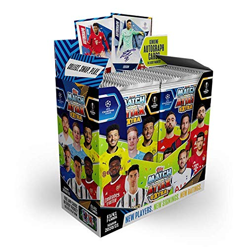 Topps Match Attax Extra 2021 UEFA Champions League - 36er Display Box