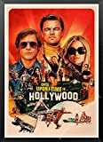 maohelaoshu Nueva Película Kraft Poster Érase Una Vez En Hollywood Art Prints Vintage Wall Decor Pictures Quentin Tarantino Poster A219 50X70Cm Sin Marcos