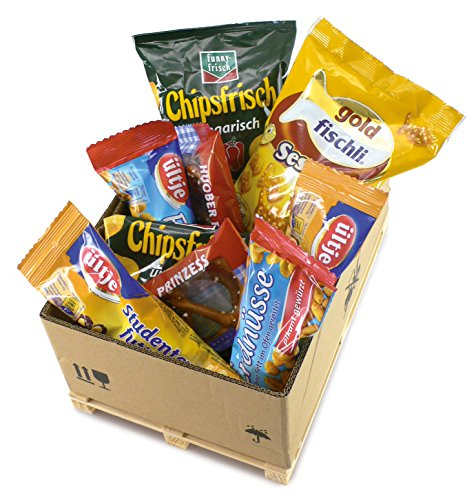 Mini-Geschenkpalette Knabberbox