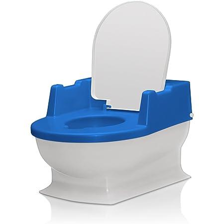 Reer 4411.1 - Orinal infantil con tapa, color azul