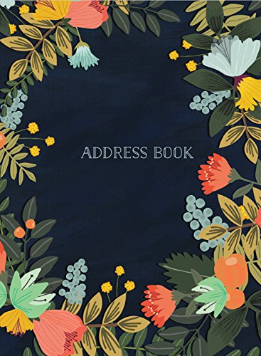 Address Book - Modern Floral Small (Address Books)
