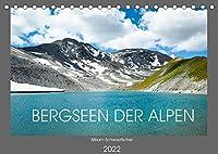 Bergseen der Alpen (Tischkalender 2022 DIN A5 quer): Bergseen der Alpen (Monatskalender, 14 Seiten )