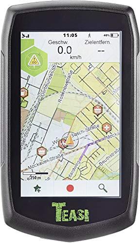 TEASI One³ Extend - Outdoor-Navigationsgerät+ Fahrradtouren SD