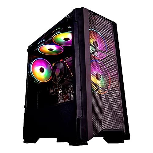 Caja de computadora del Juego de Escritorio, PC Gaming PC A9-A9820 8-Core Desktop APU R7 350 GPU DDR3 8G RAM 120G SSD 2.35GHz En comparación con la PC de Alto...