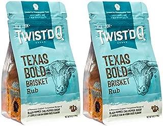 Twist'd Q - American Royal Texas Bold Beef Brisket Rub - 2 Pack