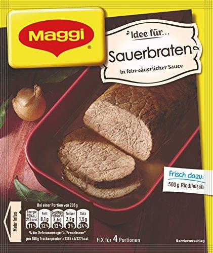 Maggi fix & frisch für Sauerbraten, 38er Pack (38 x 46 g)