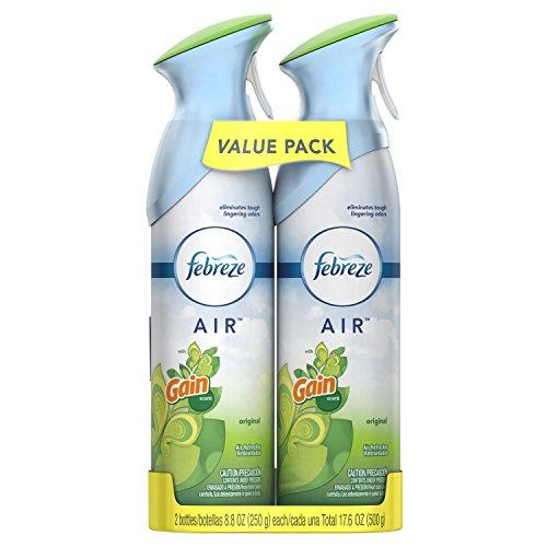 Febreze Odor-Eliminating Air Freshener with Gain Original Scent - 2pk/8.8 fl oz