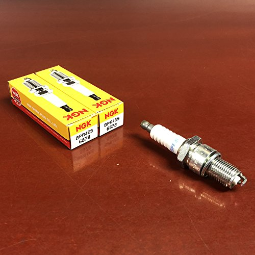 NGK 6578 Spark Plugs (BPR4ES) - Pack of 2
