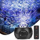 Smooce Proiettore Stelle Soffitto, Romantica Luce Notturna con Altoparlante Bluetooth & Te...