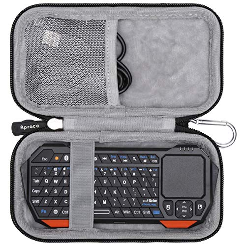 Aproca Hard Travel Case for Fosmon Portable Lightweight Mini Wireless Bluetooth Keyboard Controller