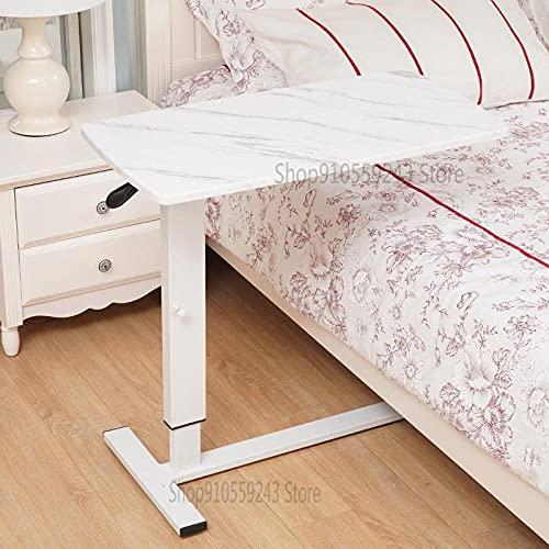 Escritorio de computadora mesita de noche móvil dormitorio cama de estudiante escritorio pequeño perezoso escritorio plegable ajustable 85x45cm