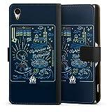 DeinDesign Étui Compatible avec Sony Xperia Z2 Étui Folio Étui magnétique Produit sous Licence...