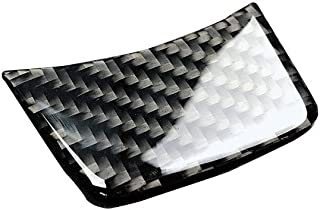 Carbon Fiber Steering Wheel Decoration Sline S Line Cover For Audi A4 B8 A3 A6 C7
