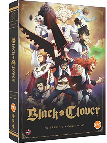Black Clover: Complete Season 2 [DVD]