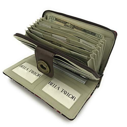 Bella Taylor Wristlet Cash System Wallet, Bellacour