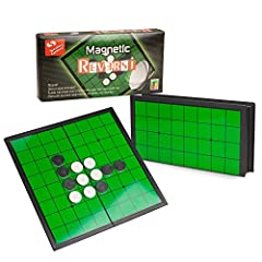 VALUE ALTERNATIVE: The Sterling Games Reversi is a classic strategy board game, an alternative and original variation to the Othello game. Similar to Othello, the game has 64 pieces to play with and each piece is reversible, having a black side and w...
