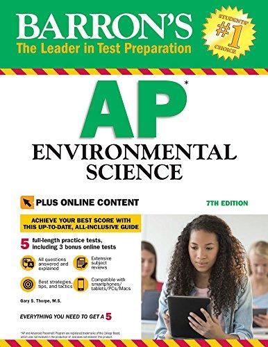 Barron's AP Environmental Science, 7th Edition: with Bonus Online Tests