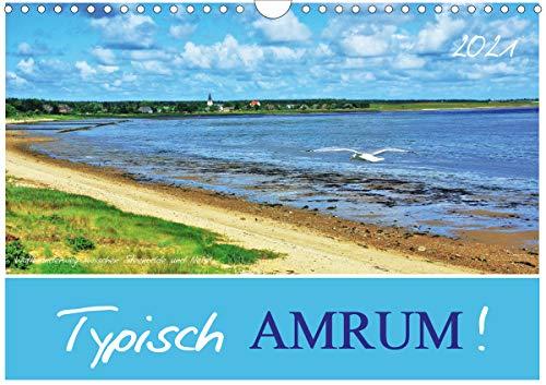 Typisch Amrum! (Wandkalender 2021 DIN A4 quer)
