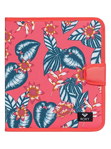 Roxy What A Day-Carpeta de 4 Anillas para Mujer Escolar, Mujer, ERJAA03615, Dubarry S Leafy, Talla única