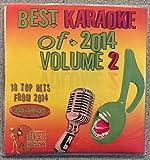 Best Of Karaoke 2014 Volume 2 CD+Graphics CDG 18 Pop & Country Tracks Sam Smith Jason Derulo Enrique Iglesias Michael Jackson Justin Timberlake Rita Ora Brad Paisley Miranda Lambert Carrie Underwood