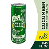 Perrier Cucumber Lime Flavored Carbonated Mineral Water, 8.45 Fl Oz...