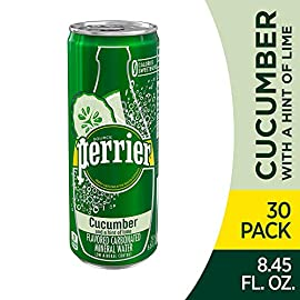 Perrier Carbonated Mineral Water, Slim Cans 2 8. 45-ounce/250 mL sleek Slim Can is ideal for on-the-go refreshment Enjoy 3 crisp, thirst-quenching varieties: Pink Grapefruit, Lime, and L'Orange (Lemon Orange) Our invigorating bubbles and naturally occurring minerals make for a unique, thirst-quenching taste