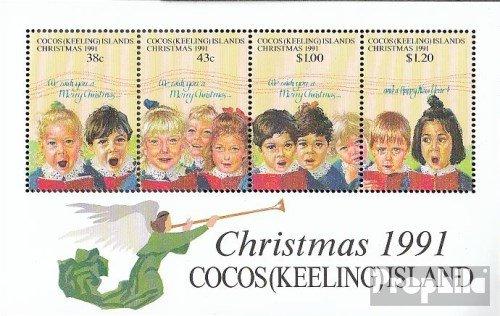 Kokos-Wyspy Blok 11 (pe?ne.Kwestia.) 1991 Bo?e Narodzenie (Znaczki dla kolekcjonerów) Boze Narodzenie