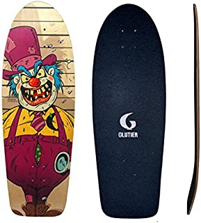 Glutier Surfskate Deck Villain Krusty 30,5 Skate S...