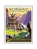 Pacifica Island Art Norwegen, Das Land der