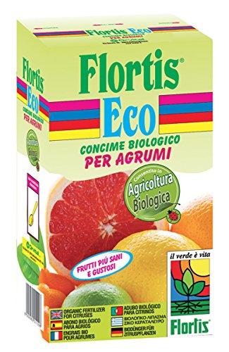 Flortis 1110641 Concime Organo Minerale Biologico Agrumi, 1000 g, 7.5x13.5x24 cm