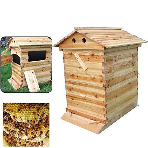 Casetta per apicoltura cinese superbrutta, bastone d'api con produzione automatica di miele e 7 nido d'ape
