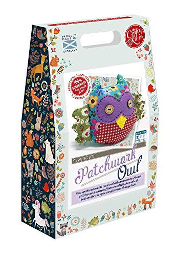 The Crafty Kit Co. Sewing Kit-Patchwork Owl