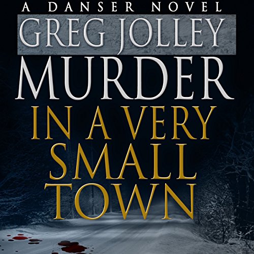 Murder in a Very Small Town audiobook cover art