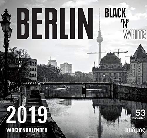 Berlin Black \'N White (2019) (Kadmos\' koole Postkartenkalender)