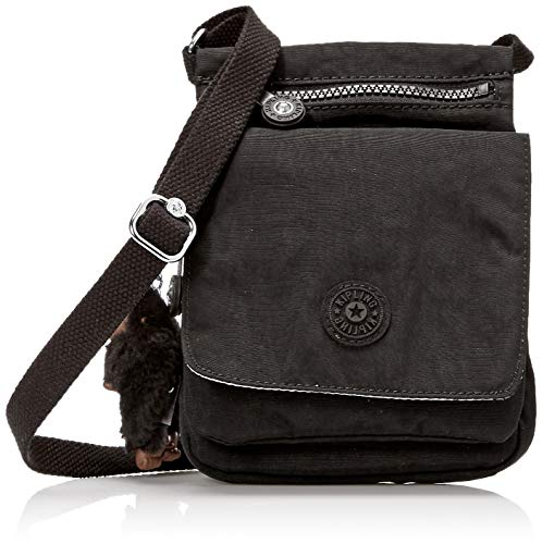Kipling Damen El Dorado Crossbody Bag, Schwarz, Einheitsgröße