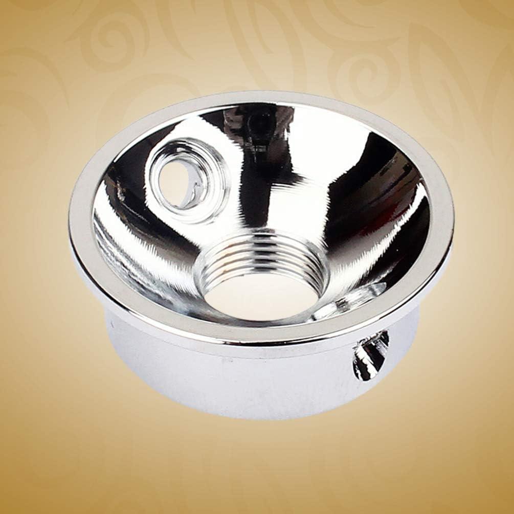 EXCEART Piastra elettrosmedaglione per chitarra elettrica Telecaster con viti argento