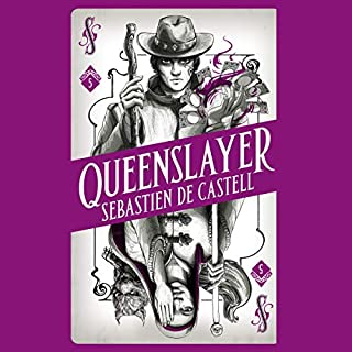 Queenslayer     Spellslinger, Book 5              By:                                                                                                                                 Sebastien de Castell                               Narrated by:                                                                                                                                 Joe Jameson                      Length: 13 hrs and 4 mins     Not rated yet     Overall 0.0