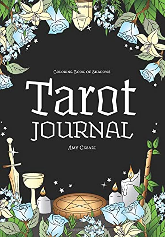 Coloring Book of Shadows: Tarot Journal