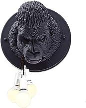 Creatieve Moderne Muur Lamp Licht Binnen Dier Gorilla Nordic Style Minimalseerde Smeedijzeren Kunst Decoratie Voor Slaapka...