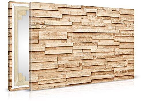 XXL-behang canvasfoto Wood Plank - klaar opgespannen - schilderijen, kunstdruk, wandschildering, spieraam, afbeelding op canvas van trendmuren 90x60cm