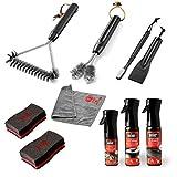 Weber Cleaning for Enamel Grills Kit de Limpieza para barbacoas de Gas esmaltadas, 0