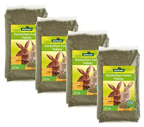 Dehner Conejo Forro pellets, 4x 2.5Kg (10kg)